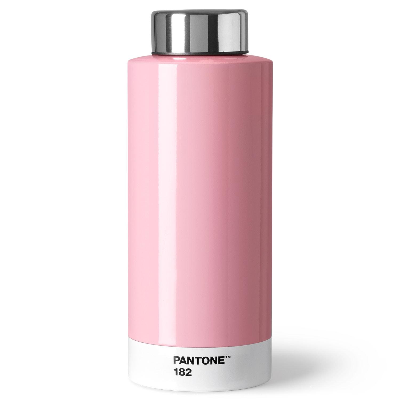 Pantone Living Drinking Bottle Steel Light Pink Room Copenhagen Royaldesign