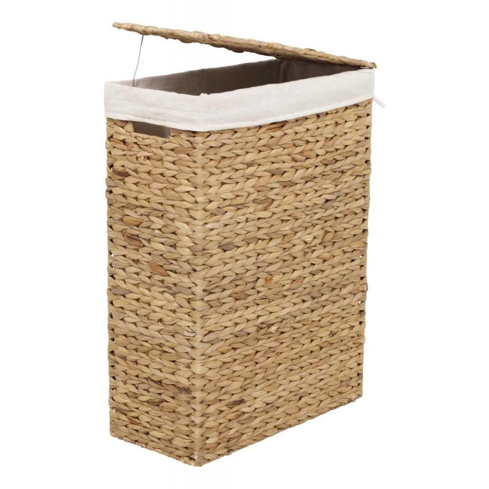 Water Hyacinth Fishbone Laundry Basket Dixie Royaldesign