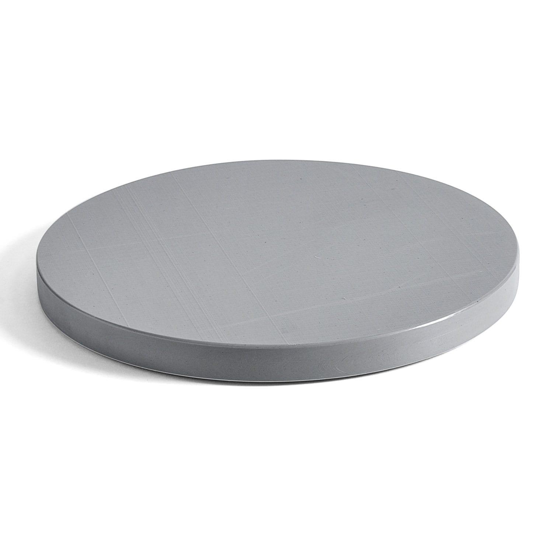 Chopping Board Round Cutting Board L Gray Hay Royaldesign