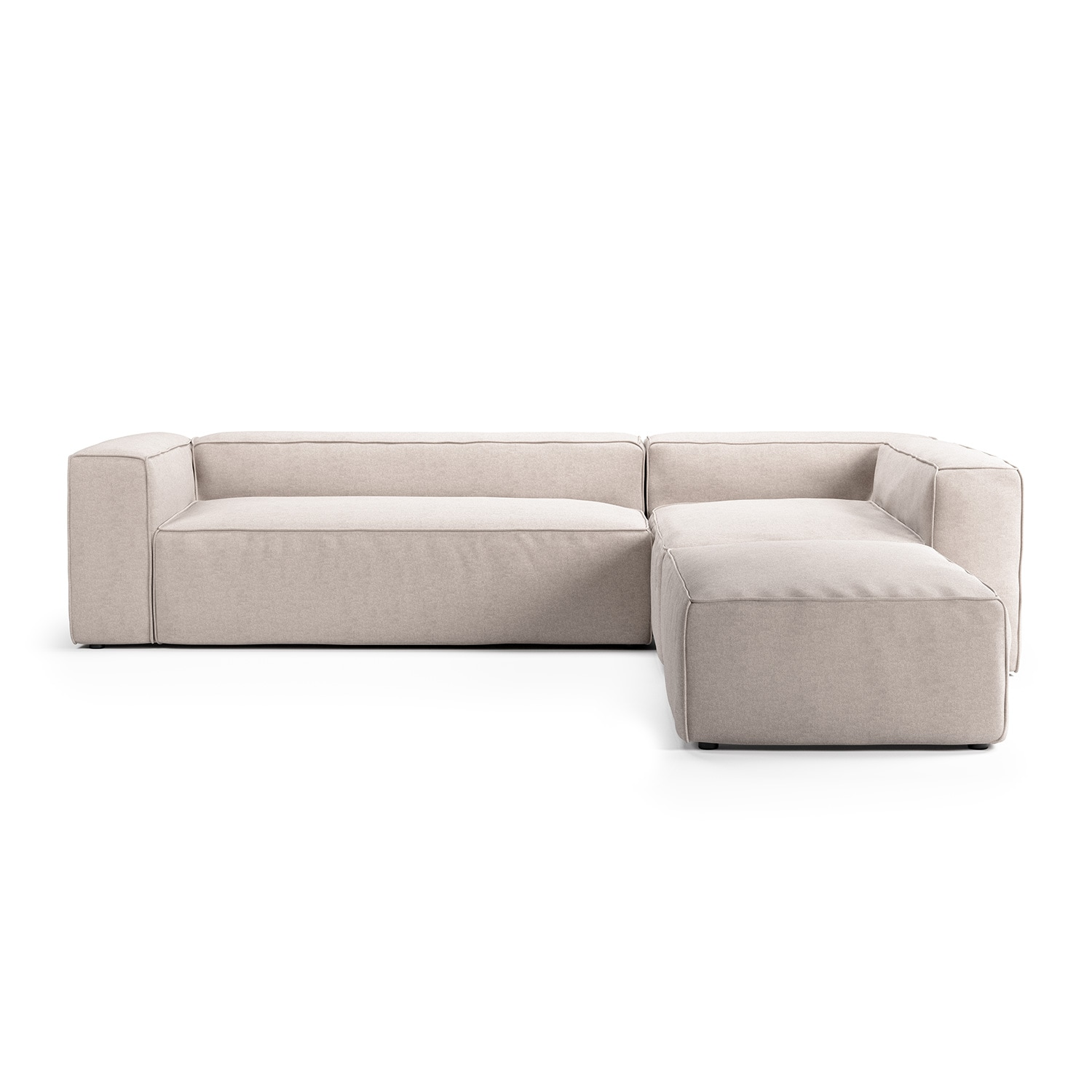 Grand 4 Seat Divan Sofa Open End Right Decotique Royaldesign