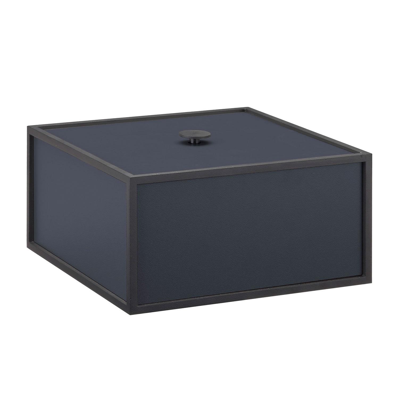 Frame 20 Box With Lid Dark Blue By Lassen At Royaldesign