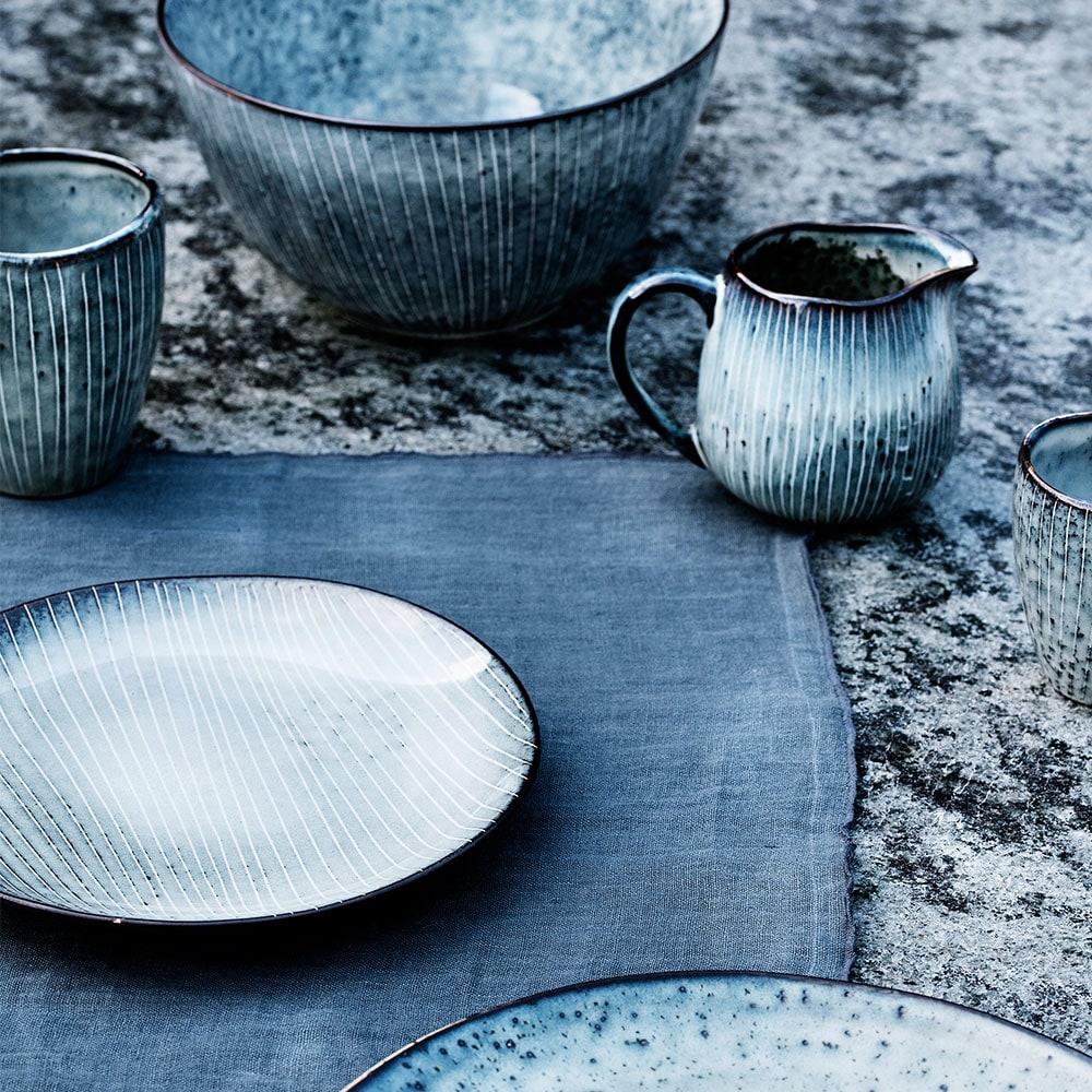 Broste Copenhagen Servies.Nordic Milk Jug Grey