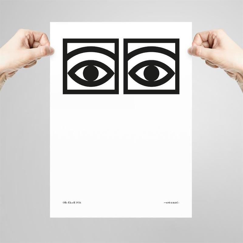 ögonkakao poster 50x70
