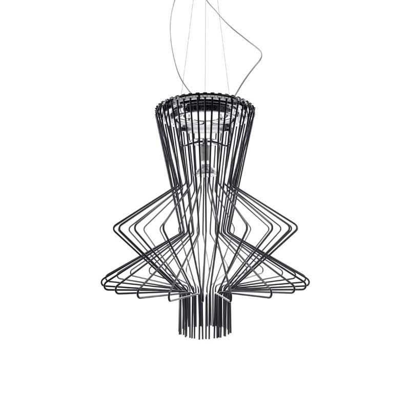 Allegro Ritmico Ceiling Lamp, Black