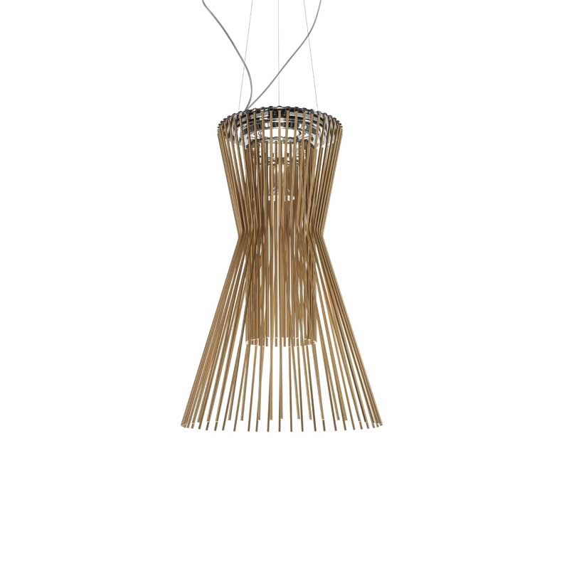Allegro Vivace Ceiling Lamp, Brown