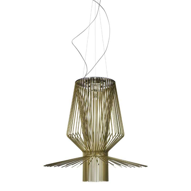Allegro Assai Ceiling Lamp, Gold