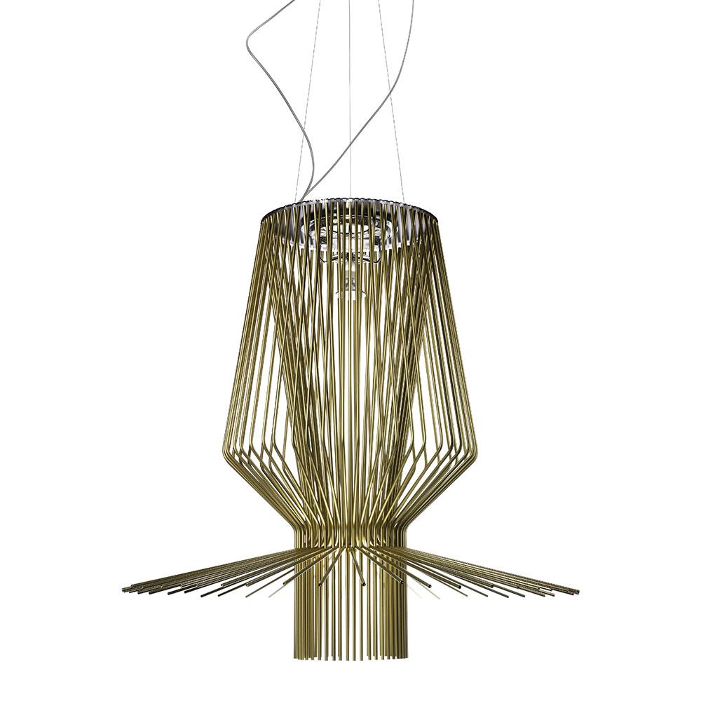 Allegro Assai LED Ceiling Lamp, Gold