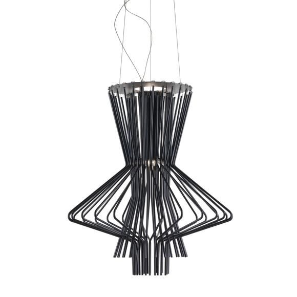 Alegro Ritmico Ceiling lamp, Black