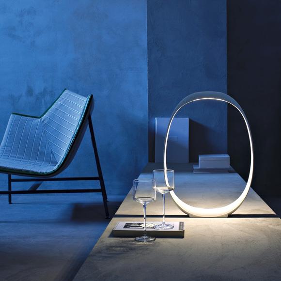 Anisha LED Table lamp L, White