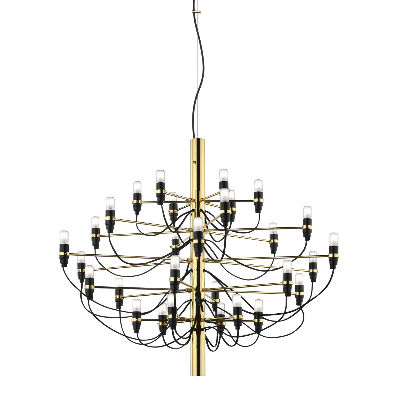 2097/30 Chandelier LED, Brass