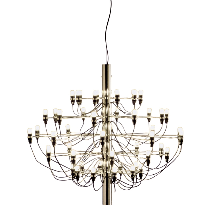 2097/50 Chandelier LED, Brass