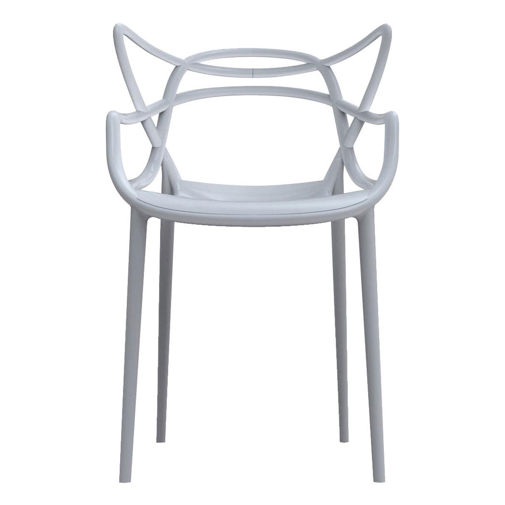 masters chair grey philippe starck eugeni quitllet kartell