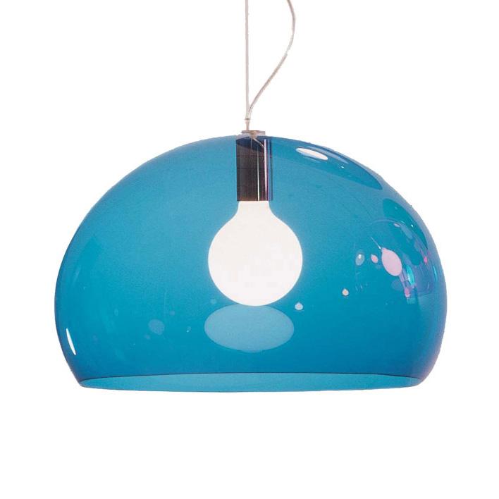 FL/Y Lamp, Blue - Ferruccio Laviani - Kartell ...