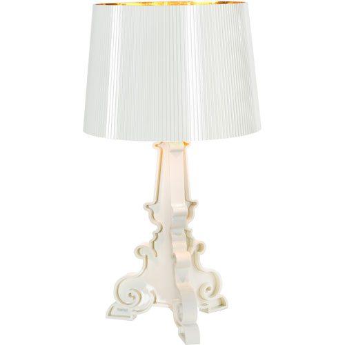 Bourgie Lamp, White/Gold - Ferruccio Laviani - Kartell ... : bordslampa design : Inredning