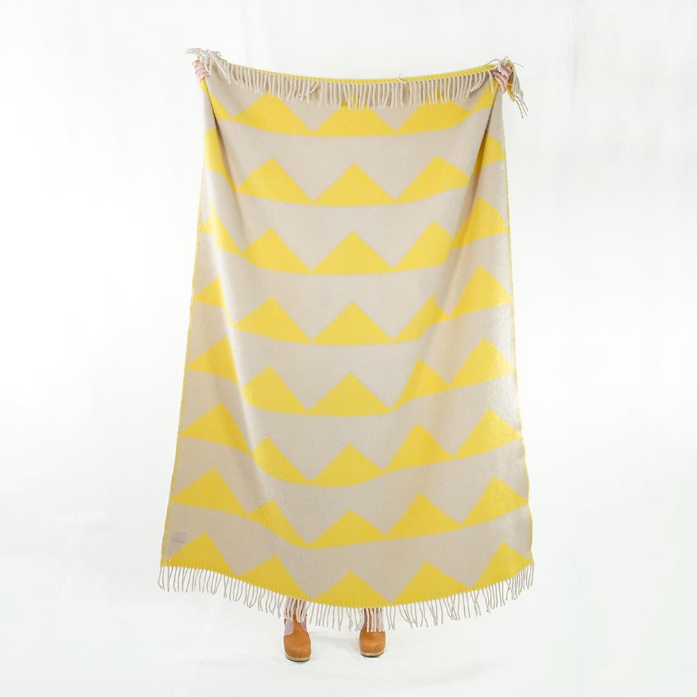 Arctic Blanket 130x180 Cm, Sulphur