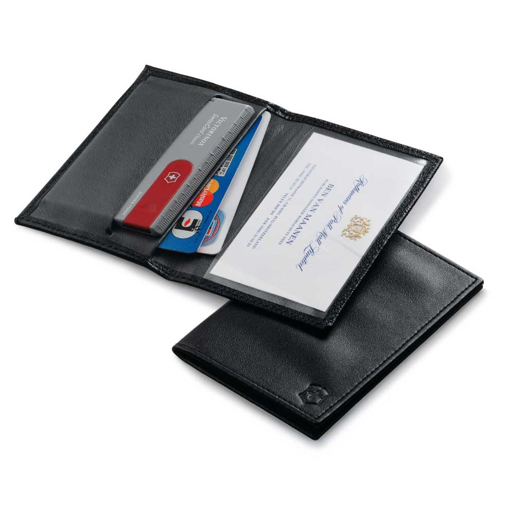 Leather Pouch For Swiss Card Victorinox Victorinox