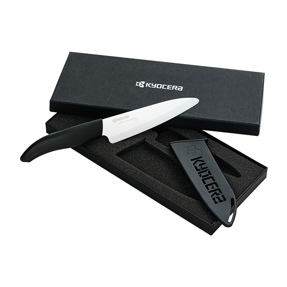 fk chefs knife s with blade guard black white kyocera kyocera. Black Bedroom Furniture Sets. Home Design Ideas