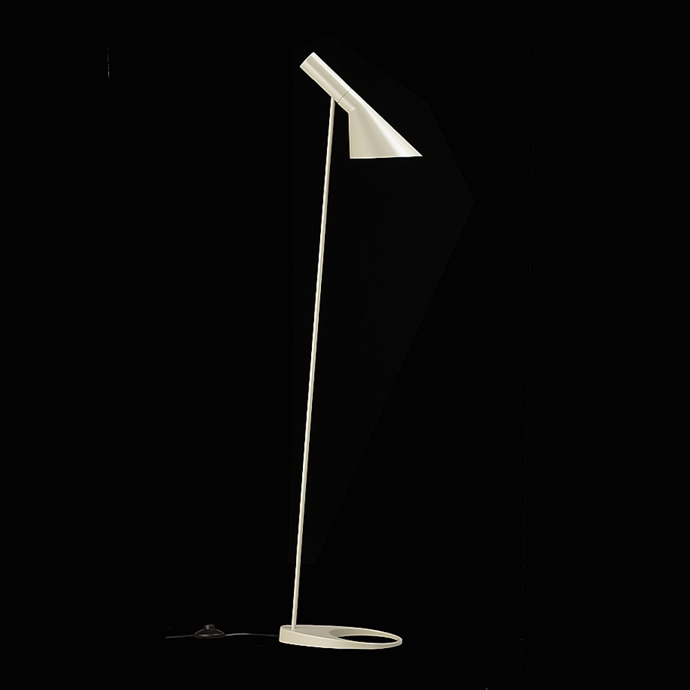 AJ Floor Lamp 60W, white - Arne Jacobsen - Louis Poulsen - RoyalDesign ...