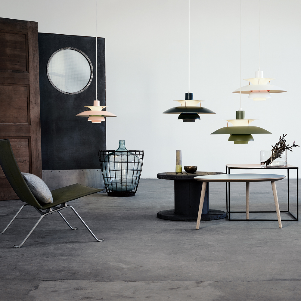 ph 5 200w e27 pale rose green mat poul henningsen louis poulsen. Black Bedroom Furniture Sets. Home Design Ideas