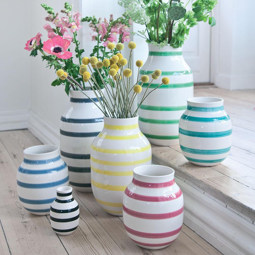 omaggio vase small pink ditte reckweg and jelena schou k hler. Black Bedroom Furniture Sets. Home Design Ideas