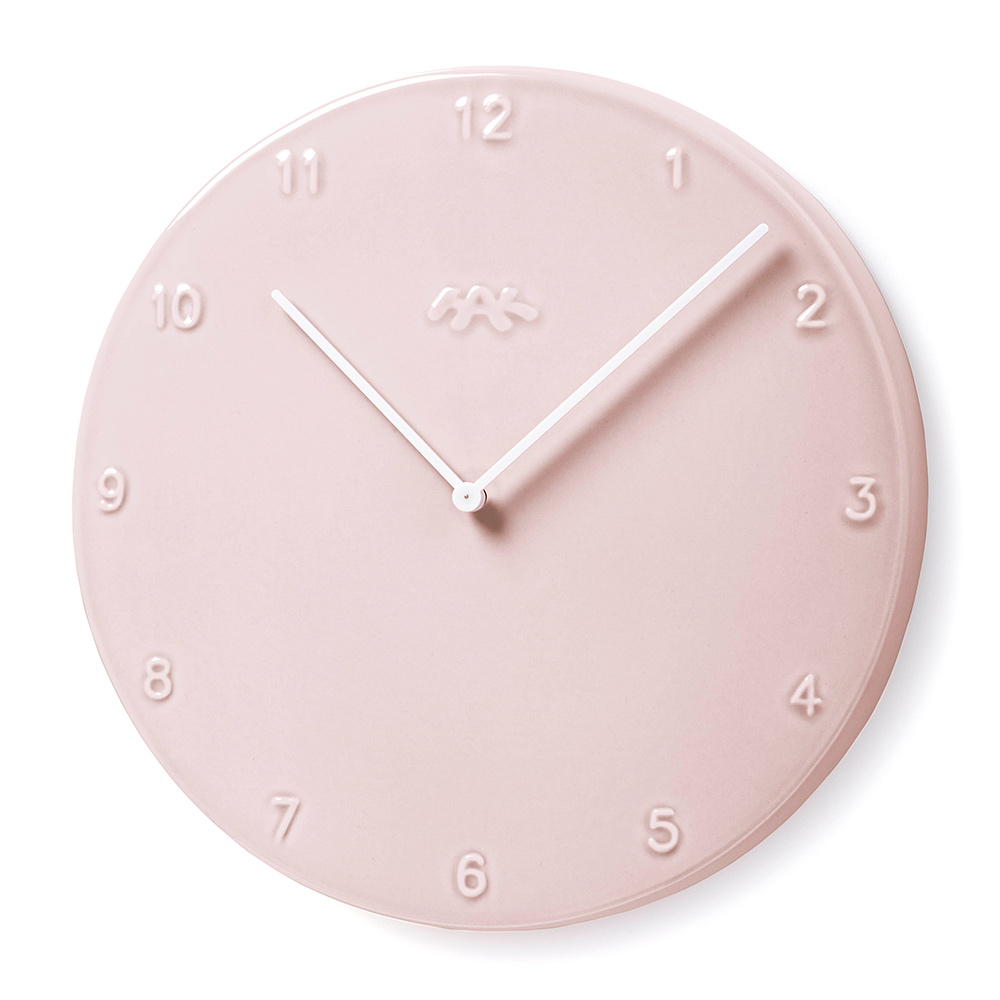 Ora wall clock 30cm pink jonas trampedach and birgitte due ora wall clock 30cm pink khler zoom amipublicfo Image collections