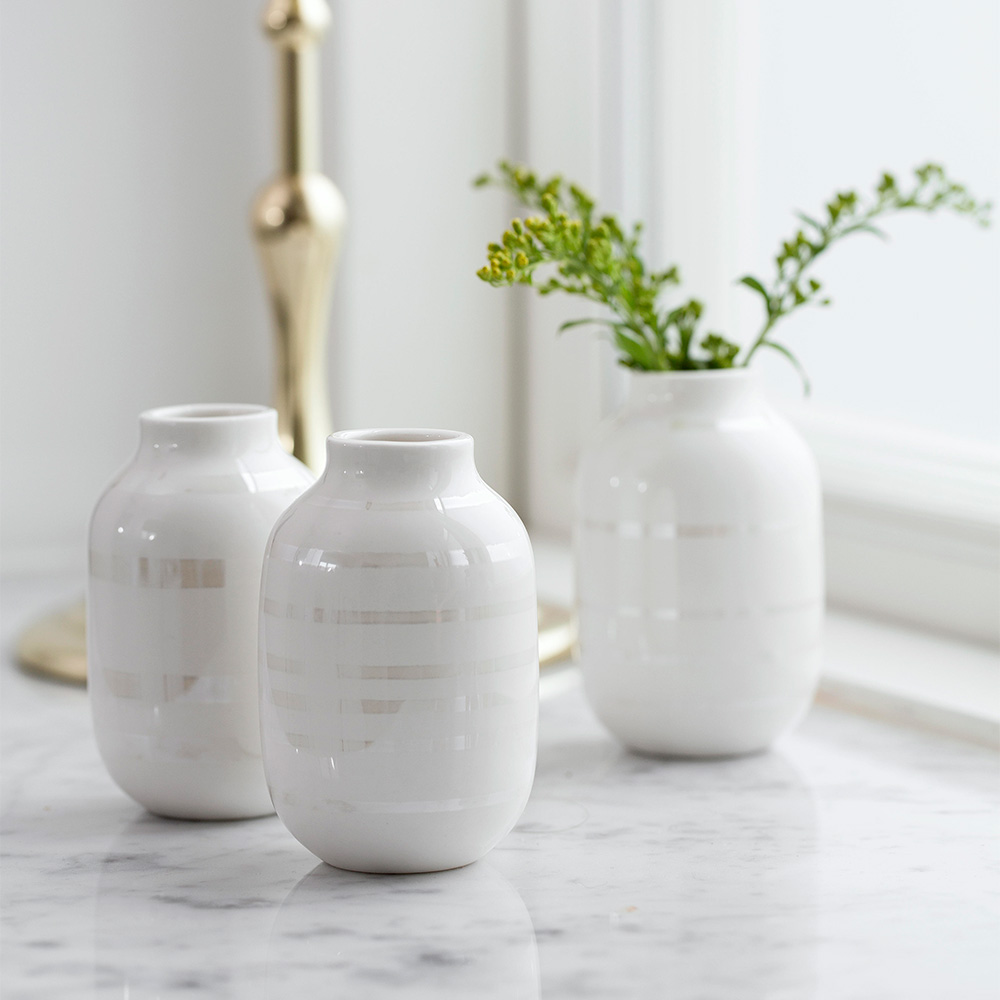 Omaggio vase miniature 3 pack mother of pearl ditte reckweg and zoom reviewsmspy