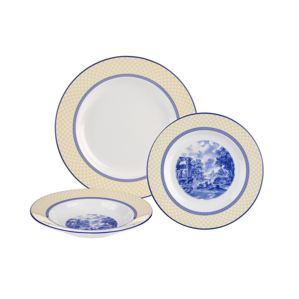 Giallo Dinner Set, 3 Pieces