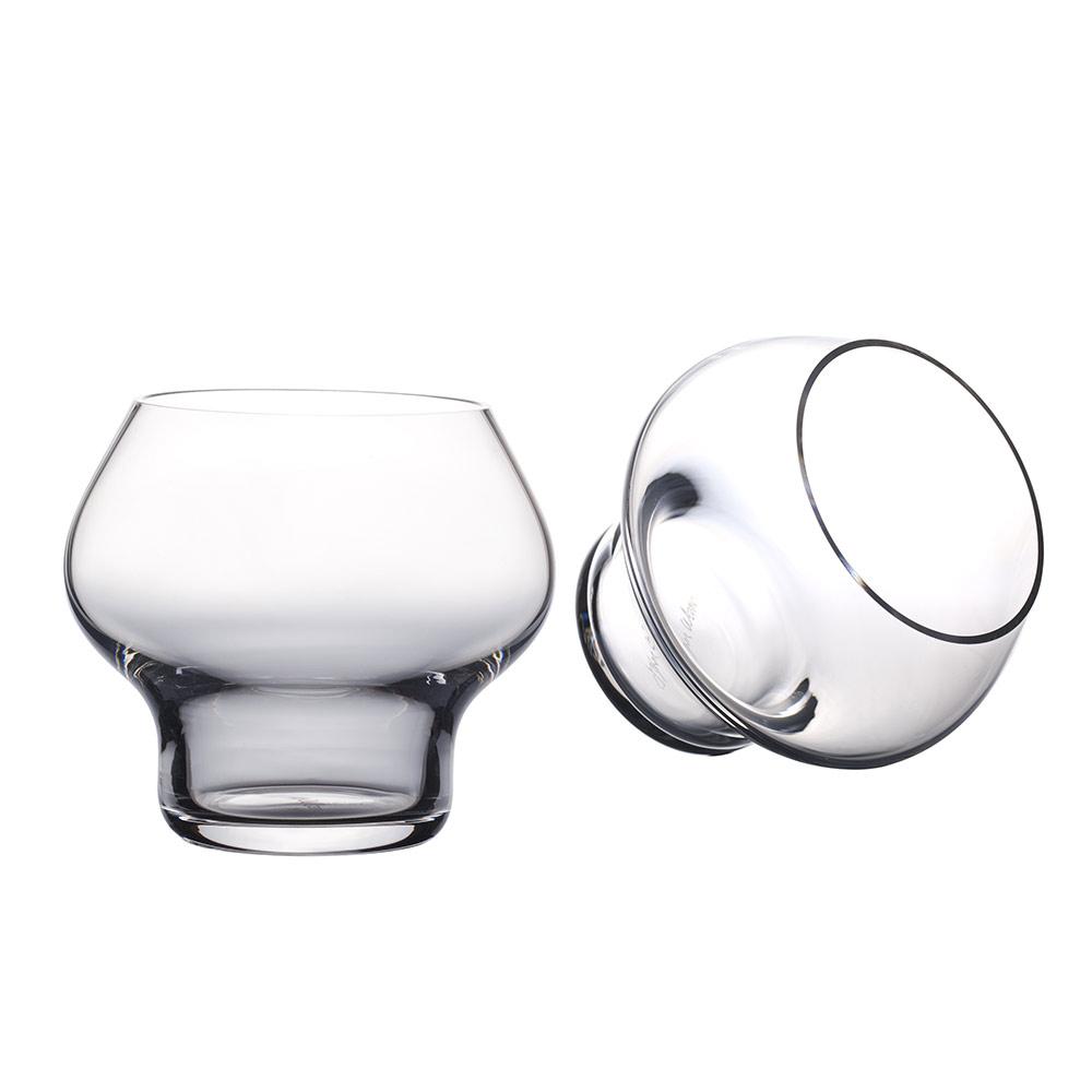 Spring Handmade drinking glass 2 pcs