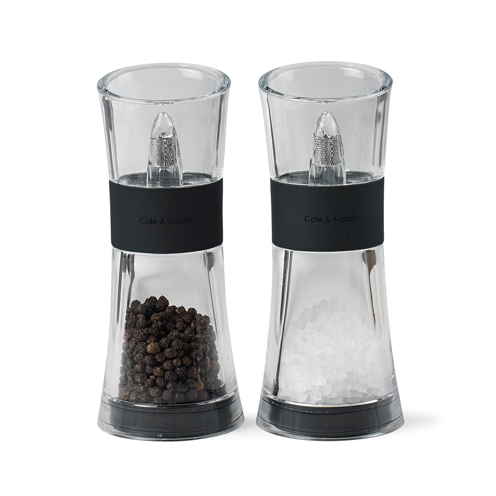C&M Salt & Pepper Set Flip 180, Black