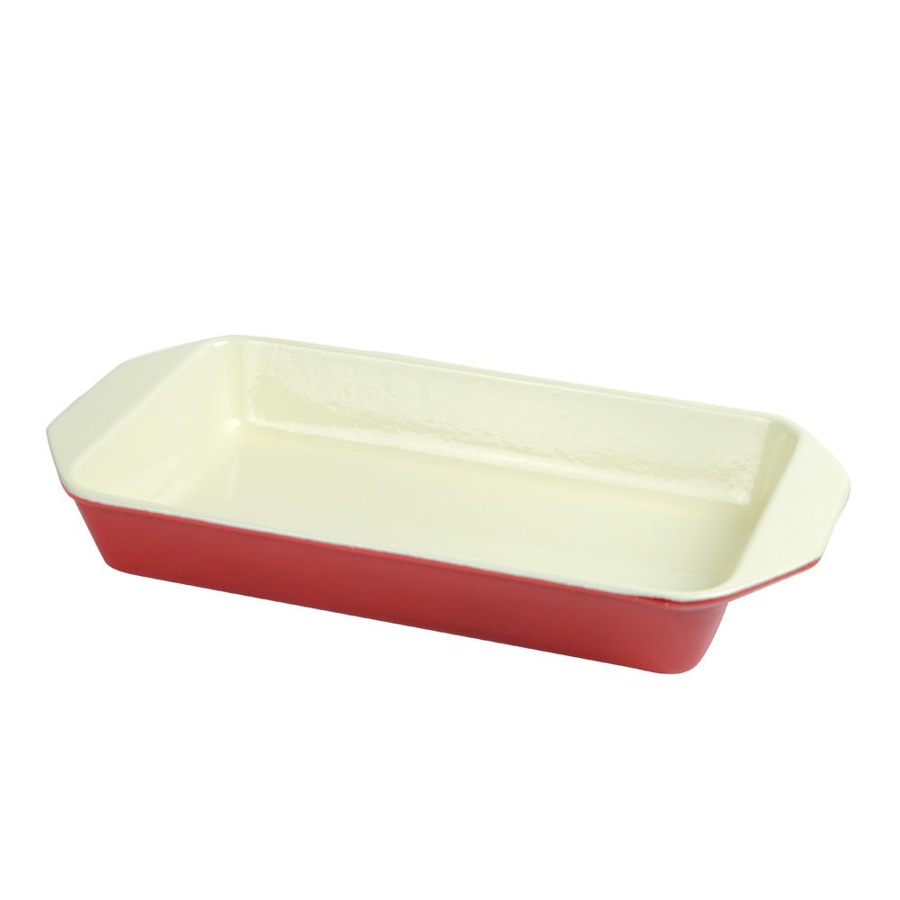 Baking Dish Rectangular 28 cm, Red