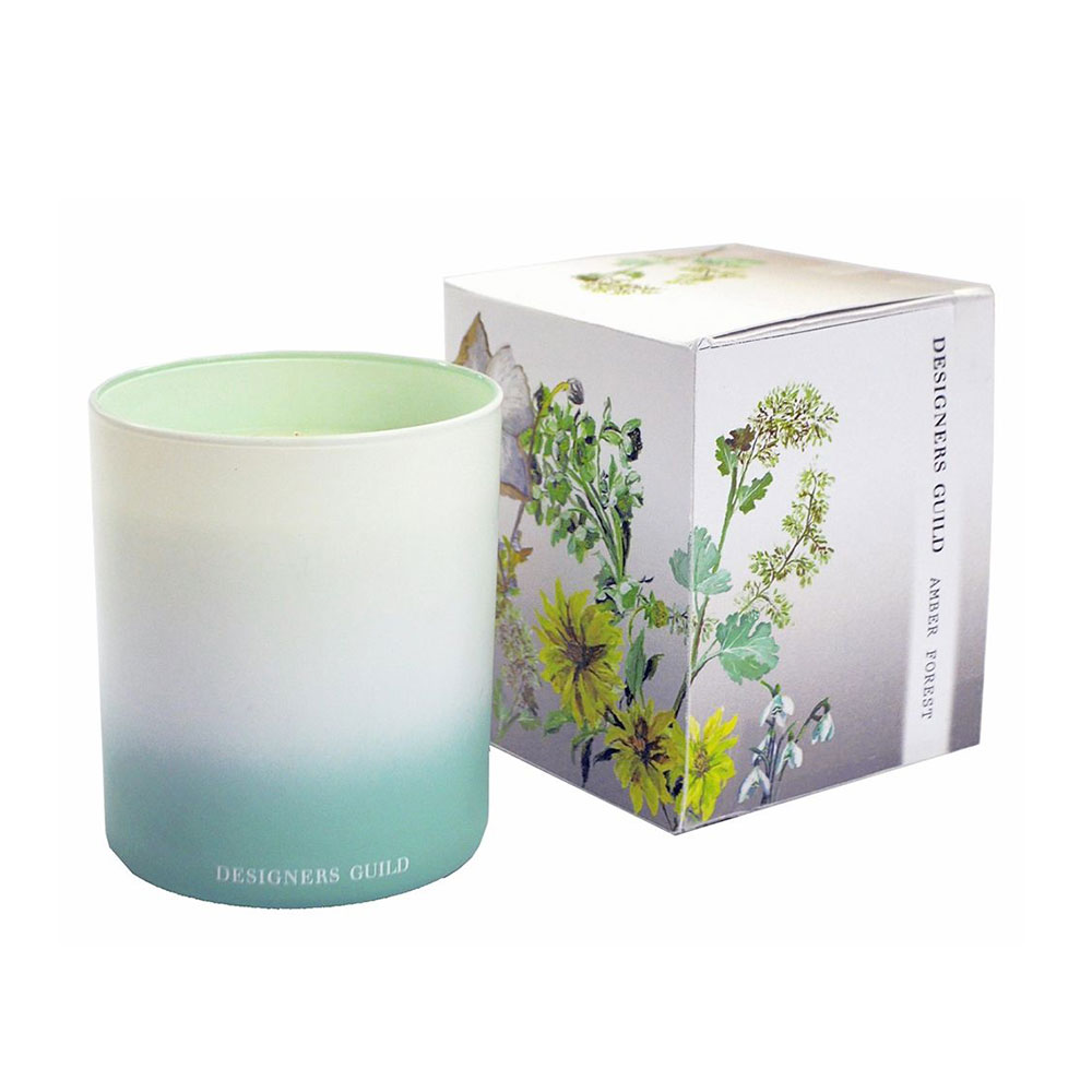 Amber Forest Scented Candle, 45 Hours