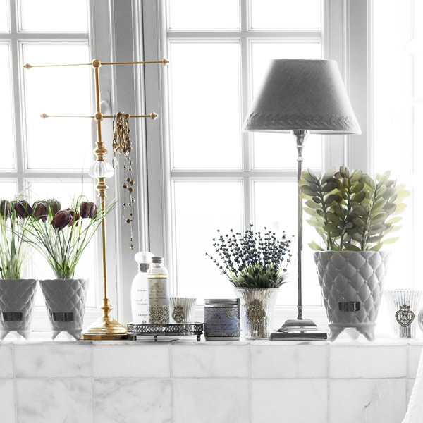 Precious Flower Pot White Large Lene Bjerre Lene