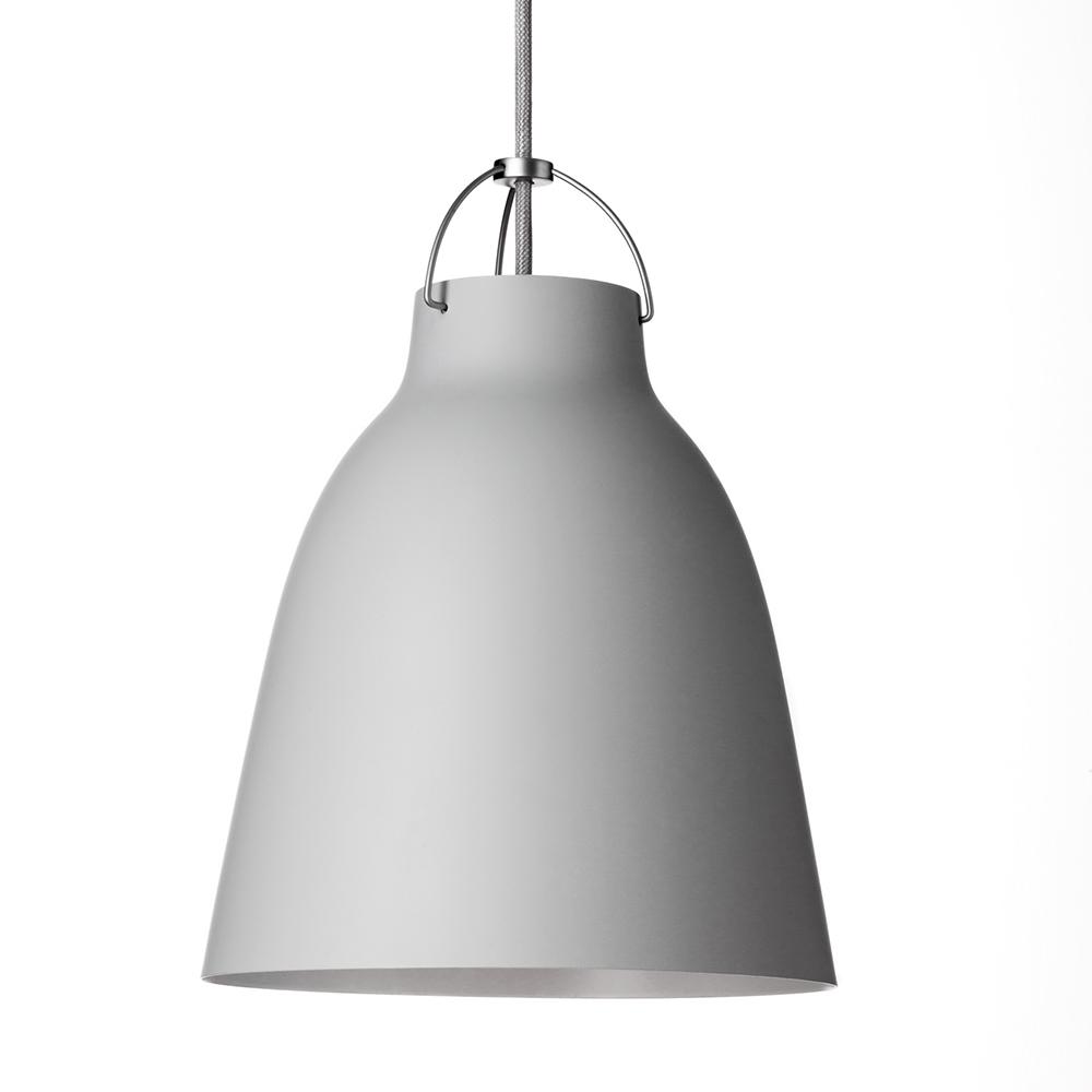 Caravaggio pendant p2 matt light grey cecilie manz lightyears - Caravaggio pendant light ...