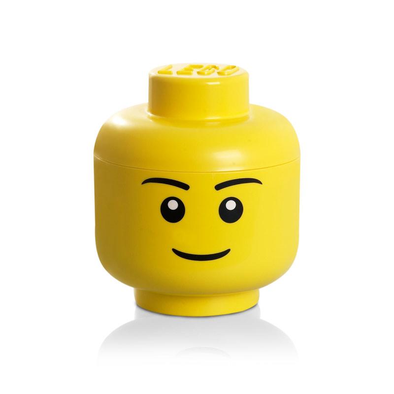 Lego Storage Head Lego S Yellow Lego Room Copenhagen