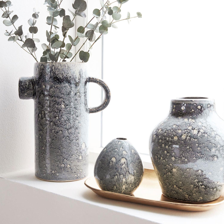 baby vase grey blue house doctor house doctor. Black Bedroom Furniture Sets. Home Design Ideas