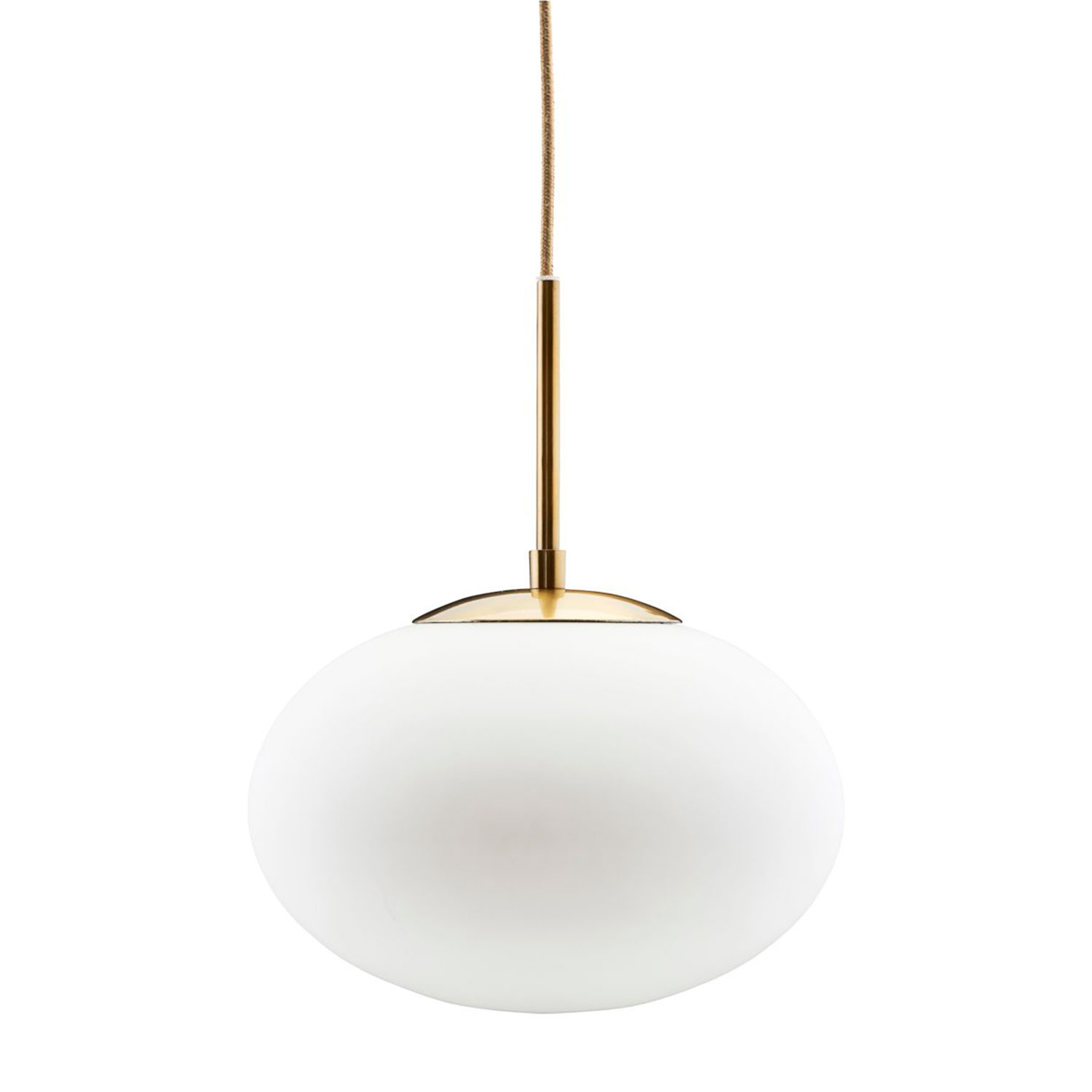 Opal pendant white house doctor house doctor for Luminaire suspension blanc