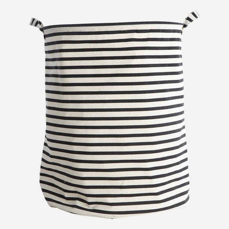 Stripes Laundry Basket