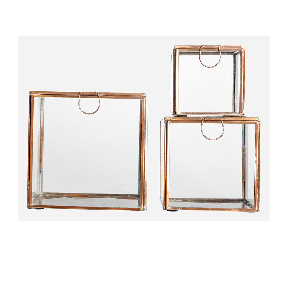 storage box 3pcs copper house doctor house doctor. Black Bedroom Furniture Sets. Home Design Ideas