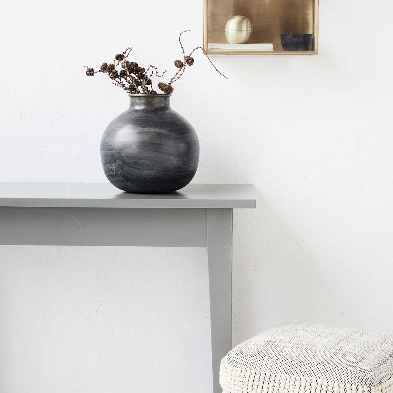 etnik vase blue house doctor house doctor. Black Bedroom Furniture Sets. Home Design Ideas