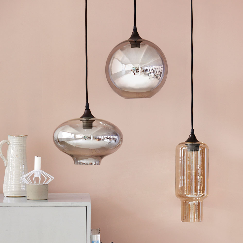 Circle pendant smokey house doctor house doctor for Interieur licht