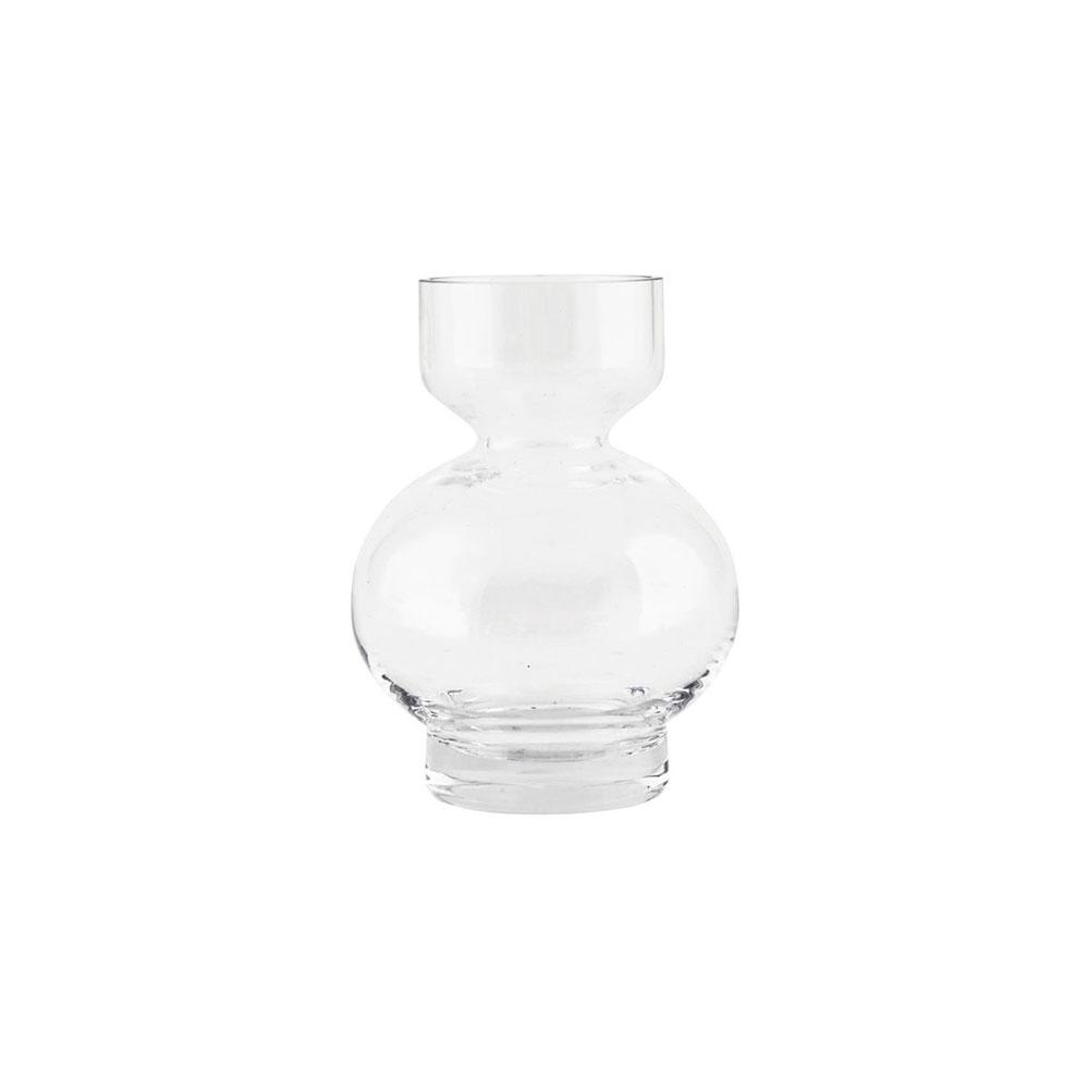 lowa vase 16cm clear house doctor house doctor. Black Bedroom Furniture Sets. Home Design Ideas