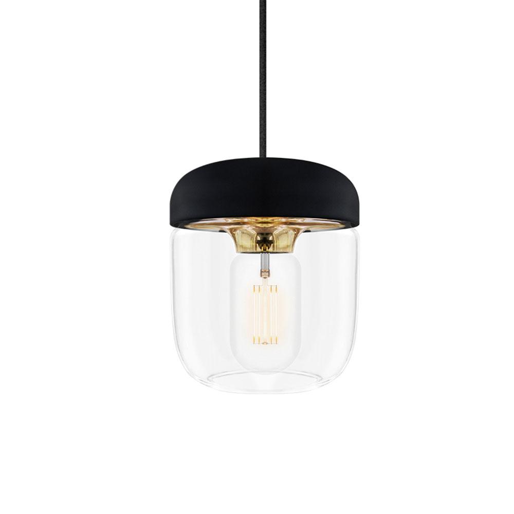 Acorn Pendant Light, Polished Brass