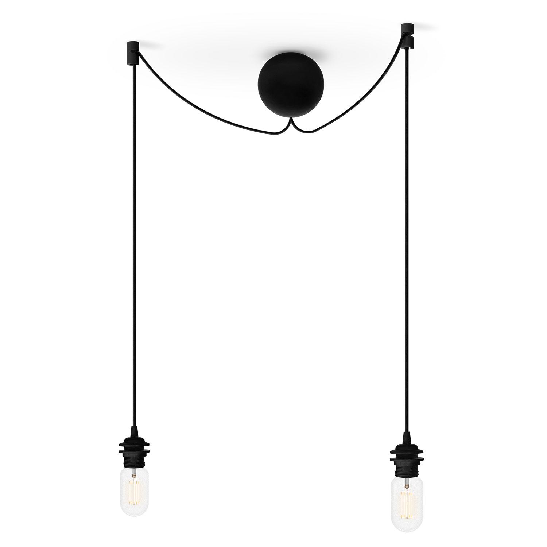 cannonball cluster 2 pendant black s ren ravn christensen vita. Black Bedroom Furniture Sets. Home Design Ideas