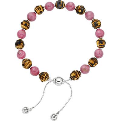Bamboo Bracelet 17, Sterling Silver