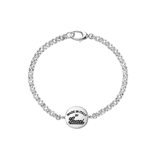 Gucci Craft Silver Bracelet with pendant