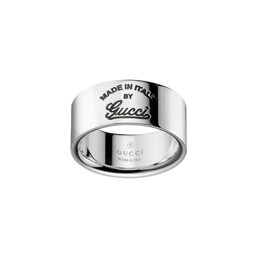 Gucci Craft Silver Ring, Small