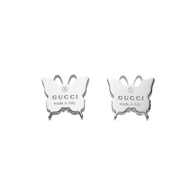 Trademark Silver Stud Earrings Butterfly