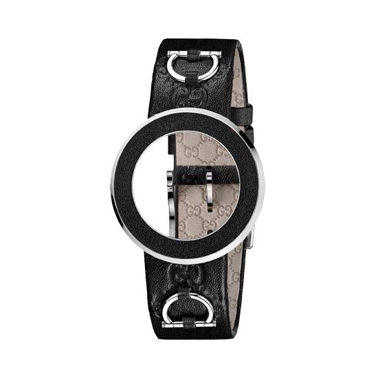 Kit U-Play M Black GG calf bezel/Black strap