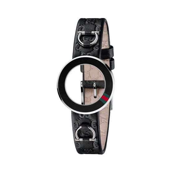 Kit U-Play S Black calf/green-red-green bezel