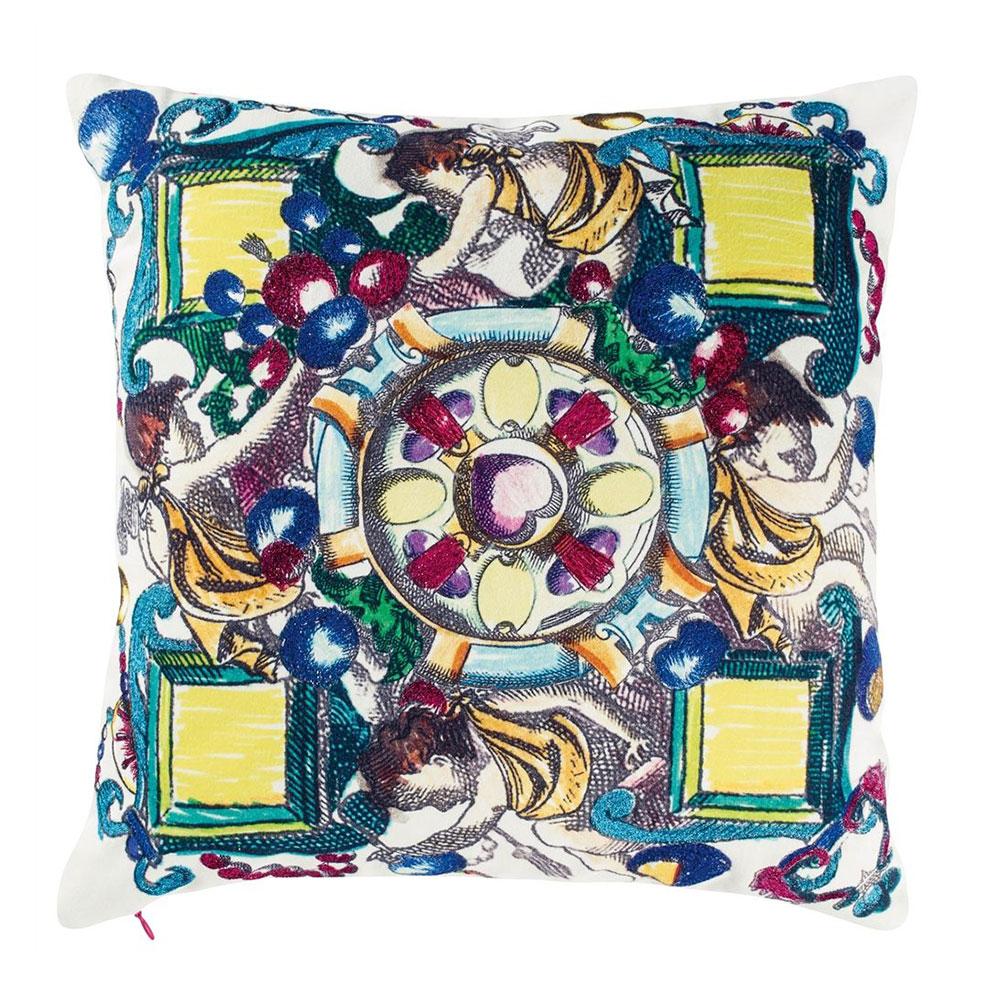 Christian Lacroix Banco Bougainvillier Cushion